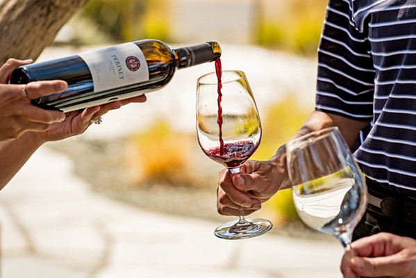SO MUCH FOR WINE APPRECIATION After the spring 2020 semester, Cal Poly will no longer offer its noncredit Life and Culture classes, courses like California Wine Appreciation that are open to community members not already enrolled at the university. - FILE PHOTO COURTESY OF DUANE HALL