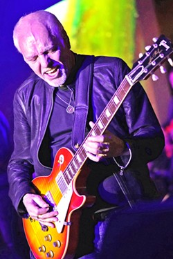 COME ALIVE Talking guitar master Peter Frampton plays the Vina Robles Amphitheatre on Oct. 3. - PHOTO COURTESY OF PETER FRAMPTON