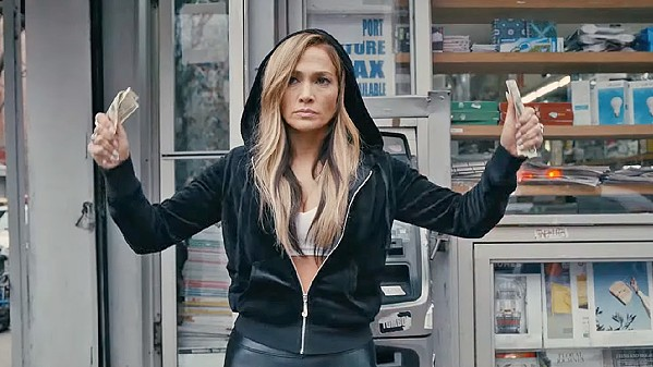 DO THE HUSTLER Ramona (Jennifer Lopez), an exotic dancer at a club frequented by greedy Wall Street types, milks her clients dry and almost gets away with it, in Hustlers. - PHOTO COURTESY OF ANNAPURNA PICTURES