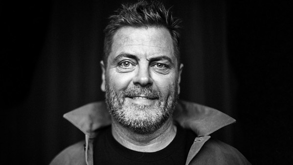 NOT RON SWANSON Actor, comedian, and musician Nick Offerman performs his stand-up at Vina Robles Amphitheatre on Oct. 12. - PHOTO COURTESY OF NICK OFFERMAN