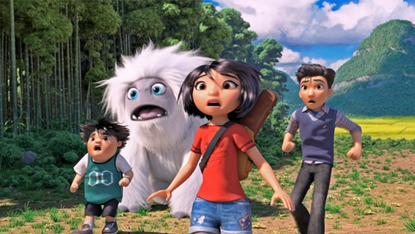 GET HIM HOME After discovering a magical Yeti on a rooftop, a group of three friends work together to return him to Mount Everest, in Abominable. - PHOTO COURTESY OF DREAMWORKS ANIMATION