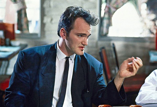 MR. BROWN Auteur Quentin Tarantino's first eight films are explored in QT8: The First Eight, a documentary that interviews his frequent collaborators, screening on Oct. 21, in Galaxy Colony Square 10 Theaters. - PHOTO COURTESY OF WOOD ENTERTAINMENT