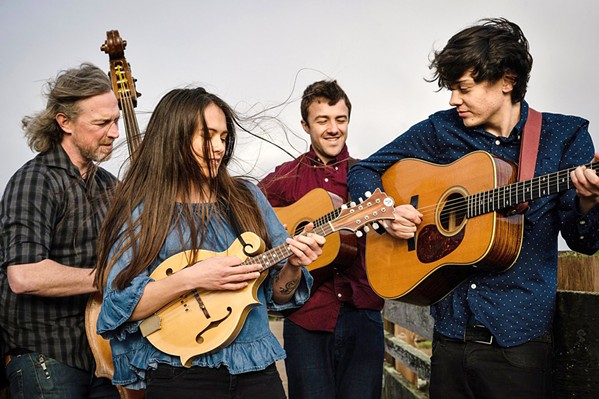 AMERICANA AJ Lee & Blue Summit play a couple SLOfolks shows this weekend at Coalesce Bookstore on Oct. 25, and at Castoro Cellars on Oct. 26. - PHOTO COURTESY OF AJ LEE & BLUE SUMMIT