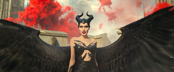 WHO'S THE EVILEST OF THEM ALL? Angelina Jolie reprises her titular role in Maleficent: Mistress of Evil, where maybe she's not the most evil after all. - PHOTO COURTESY OF WALT DISNEY PICTURES