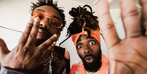 STRAIGHT OUTTA ATLANTA Hip-hop duo EarthGang plays the Fremont Theater on Nov. 6. - PHOTO COURTESY OF EARTHGANG