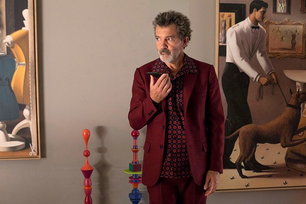 REFLECTION A film director (Antonio Banderas) reflects on his life, in Pedro Almodóvar's newest, Pain and Glory, screening exclusively at The Palm Theatre. - PHOTO COURTESY OF CANAL+