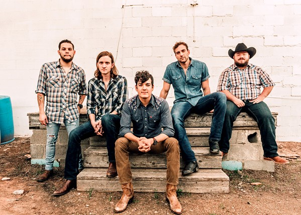 CHARGE SLO Brew Rock hosts Texas-based country and Americana act Flatland Cavalry on Nov. 16. - PHOTO COURTESY OF FLATLAND CAVALRY
