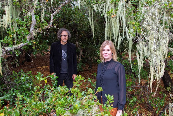 SACRED SOUNDS Mark Davis and Karoline Hausted of To Wake You will present in concert Winter And The Scared Tree on Nov. 19, in SLO's East Wellbeing. - PHOTO COURTESY OF CARL ADAMS