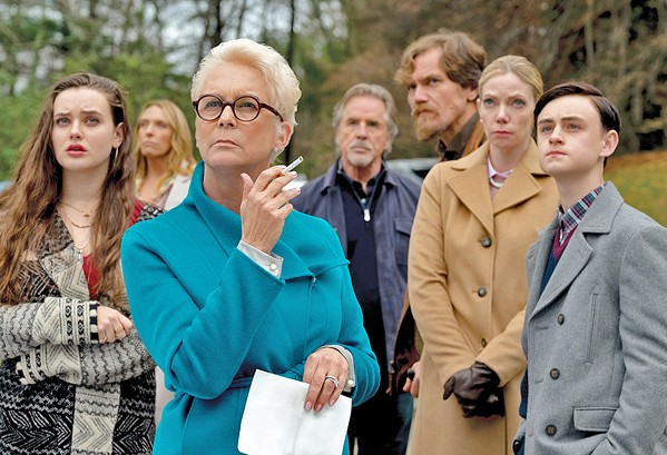 WHODUNIT? In Knives Out, a gifted detective must suss out the killer of a family's patriarch, in this ensemble comedy crime drama. - PHOTO COURTESY OF LIONSGATE