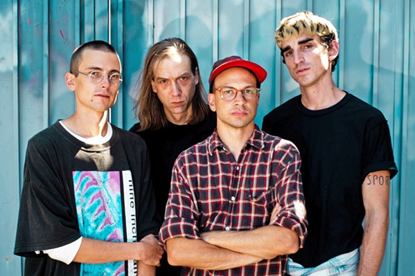 DIVE INTO DECEIVER Brooklyn-based indie rockers, DIIV, play the Numbskull and Good Medicine Presents show at the SLO Guild on Dec. 6. - PHOTO COURTESY OF DIIV