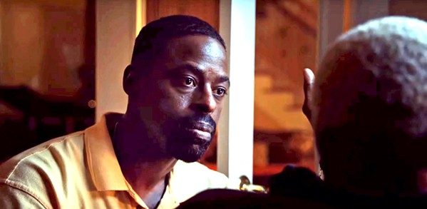PATRIARCH Overbearing father Ronald (Sterling K. Brown) tries to hold his family together after they suffer a tragic loss, in Waves. - PHOTO COURTESY OF A24