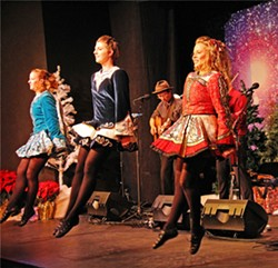 CELTIC CHRISTMAS Winterdance, featuring Molly's Revenge and the Murray Irish Dancers, happens Dec. 18, in the South Bay Community Center. - PHOTO COURTESY OF WINTERDANCE