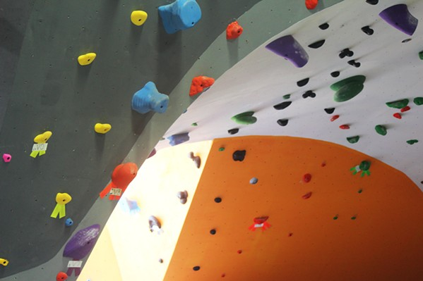 EXPANDING The owners of The Pad Climbing run a 14,000-square-foot gym in San Luis Obispo, a roughly 10,000-square-foot gym in Santa Maria, and recently purchased a facility in Las Vegas. - FILE PHOTO BY SEAN MCNULTY