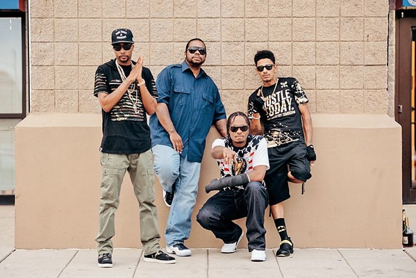 FIVE BONES Melodious hip-hop act Bone Thugs N Harmony plays the Fremont on Dec. 22. - PHOTO COURTESY OF BONE THUGS N HARMONY