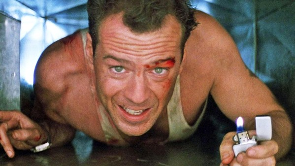 YIPPIE KI-YAY Bruce Willis stars as NYPD detective John McClane in Die Hard, screening exclusively at the Fremont Theater on Saturday, Dec. 21, at 7 p.m. - PHOTO COURTESY OF 20TH CENTURY FOX