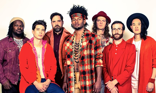 FUNKY FRESH Funk-rock-dance masters Con Brio bring Bay Area style to The Siren on Friday, Dec. 27. - PHOTO COURTESY OF CON BRIO