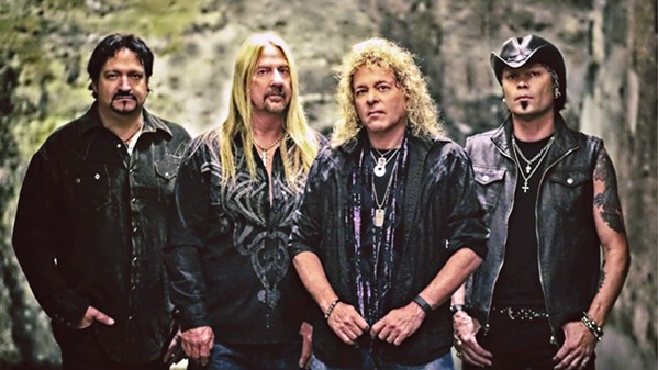 GET MELTED The heavy rock band that's been hitting it hard since the '70s, Y&T, plays SLO Brew Rock on Saturday, Dec. 28. - PHOTO COURTESY OF Y&T