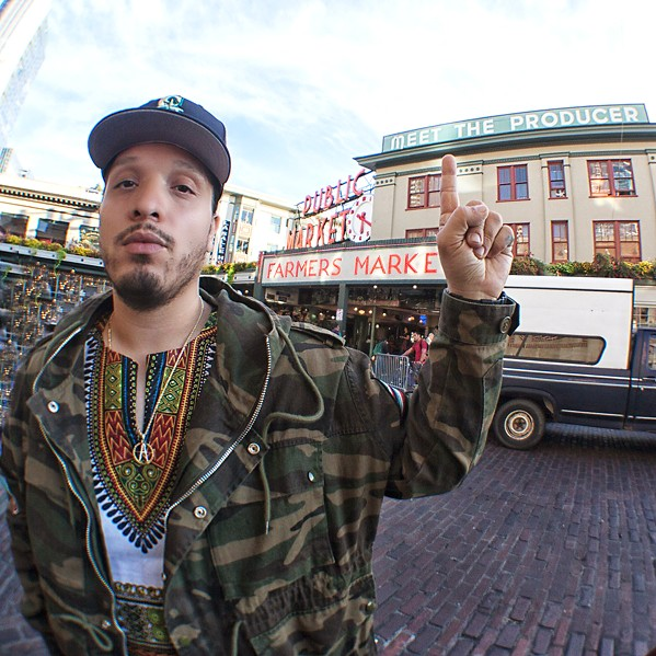 INFAMOUS Get ready to party at the Disco with rapper Scoop DeVille at SLO Brew Rock for New Year's Eve, Tuesday, Dec. 31. - PHOTO COURTESY OF SCOOP DEVILLE