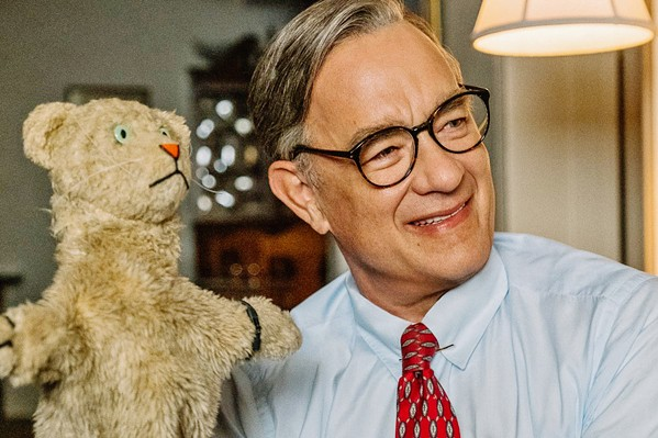 PUPPET MASTER Tom Hanks plays beloved television host Fred Rogers, in director Marielle Heller's biopic, A Beautiful Day in the Neighborhood. - PHOTO COURTESY OF TRISTAR PICTURES