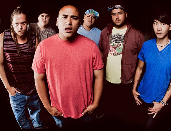 ALOHA TIME Hawaiian reggae band The Green plays the Fremont Theater on Jan. 17. - PHOTO COURTESY OF THE GREEN