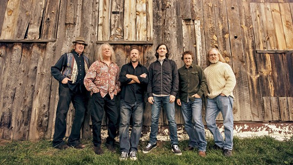 PROG-GRASS Progressive bluegrass act Railroad Earth comes to the Fremont Theater on Jan. 23. - PHOTO COURTESY OF RAILROAD EARTH