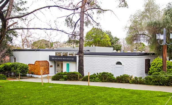 HERE TO STAY The San Luis Obispo Museum of Art has called off plans for a new building. Its unsuccessful capital campaign led to financial instability at the organization. - FILE PHOTO BY JAYSON MELLOM