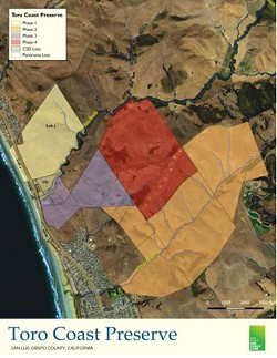 PRESERVING SPACE The city of Morro Bay and the Cayucos Sanitary District are partners in the effort to preserve the towns' dog beach. - IMAGE COURTESY OF THE CITY OF MORRO BAY