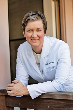 ALTERNATIVE ROUTE For the first time on the Central Coast, local osteopathic physician Dr. Lindsey Faucette opened a direct primary care practice. - PHOTO COURTESY OF DR. LINDSEY FAUCETTE
