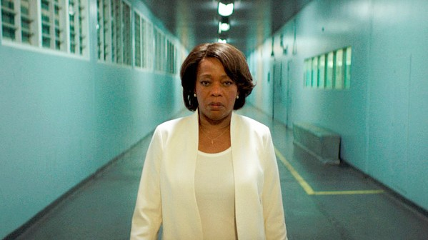 HER BURDEN Alfre Woodward stars as death row prison warden Bernadine Williams, who prepares to suffer the emotional toll of executing another inmate, in Clemency, screening exclusively at The Palm. - PHOTO COURTESY OF ACE PICTURES ENTERTAINMENT