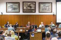 RAISES? The San Luis Obispo City Council will consider giving itself raises on Feb. 4. - FILE PHOTO BY JAYSON MELLOM