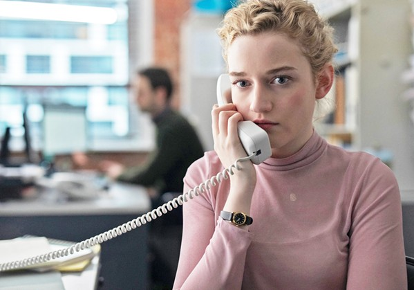 DUTIES Jane (Julia Garner), assistant to a powerful film company executive, slowly begins to understand the insidious abuse she faces, in The Assistant. - PHOTO COURTESY OF CINEREACH