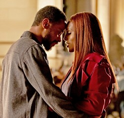 VALENTINES The Photograph weaves two love stories set in the past and present, including between Michael (LaKeith Stanfield) and Mae (Issa Rae). - PHOTO COURTESY OF PERFECT WORLD PICTURES
