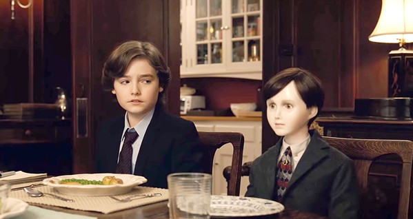 FRIENDS? Jude (Christopher Convery, left) befriends a lifelike doll, in the horror mystery Brahms: The Boy II. - PHOTO COURTESY OF STX ENTERTAINMENT