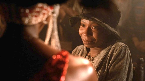 FINDING HERSELF After suffering years of horrible abuse, Celie Johnson (Whoopi Goldberg) slowly rediscovers her identity in director Steven Spielberg's 1985 adaptation of Alice Walker's stunning novel, The Color Purple, screening on Feb. 23, at Downtown Centre. - PHOTO COURTESY OF AMBLIN ENTERTAINMENT