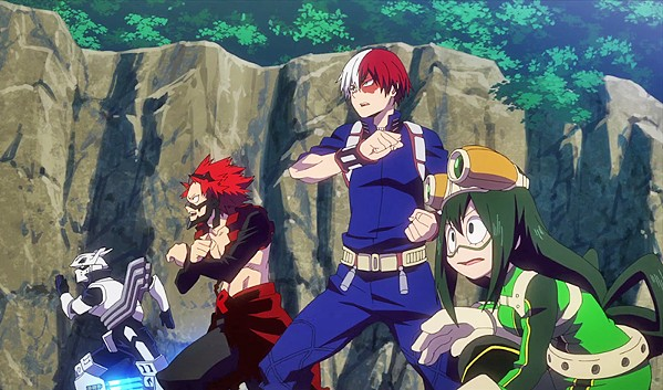 RISE HEROES In the animated sequel My Hero Academia: Heroes Rising, a group of kids aspires to become superheroes. - PHOTO COURTESY OF BONES