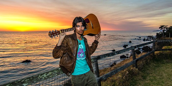 DOUBLE HEADER On March 7, Monterey-based singer-songwriter Zack Freitas plays a 2 p.m. show at The Siren and a 10 p.m. show with his band Bad Juju at the Frog and Peach Pub. - PHOTO COURTESY OF ZACH FREITAS