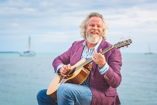 'GRINGO HONEYMOON' Amazing singer-songwriter Robert Earl Keen canceled his show at the Fremont Theater on March 14. - PHOTO COURTESY OF ROBERT EARL KEEN