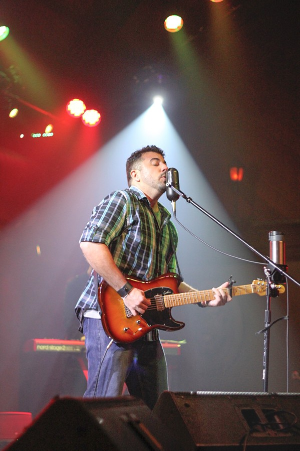 THE SHOW MUST GO ON (FROM HOME) Mike Annuzzi, who started his musical career in SLO Town, has continued to perform live via social media. - PHOTO COURTESY OF MIKE ANNUZZI