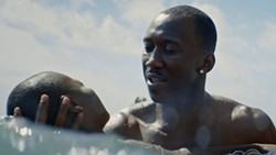 COMPLICATED CHARACTER Mahershala Ali won the 2017 Best Actor Oscar for his portrayal of Juan, a drug dealer who mentors a young gay boy while hooking the boy's mother on drugs, in Moonlight, which also won Best Picture of the Year and is currently available on Netflix. - PHOTO COURTESY OF A24