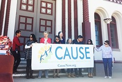 EXTENDING THE SAFETY NET Advocacy groups, such as the Central Coast Alliance for a Sustainable Economy, are urging state officials to do more to help undocumented workers during the COVID-19 pandemic. - FILE PHOTO BY KASEY BUBNASH