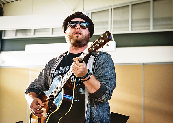 "STAY POSITIVE Soulful Americana singer-songwriter Matt Saurez plays a weekly ""Gettin' Weird Wednesday's @530/Beer30"" on his Facebook page, happening again on May 6. - PHOTO COURTESY OF MATT SAUREZ"