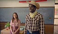 """BE WHO YOU WANT TO BE International student Iwegbuna Ikeji (Conphidance) experiences racism in America but also discovers he can forge his own identity, in """"The Cowboy,"""" episode 3 of Little America, about real-life experiences in the USA. - PHOTO COURTESY OF UNIVERSAL TELEVISION"""