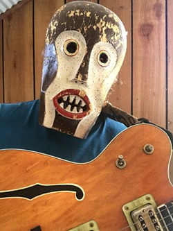 WHO IS THAT MASKED MAN? Award-winning singer-songwriter Vincent Bernardy will play a livestream concert on May 20 on his Instagram account, @vincent bernardy. - PHOTO COURTESY OF VINCENT BERNARDY