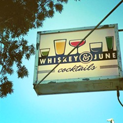 STILL IN DETENTION Left out of reopening plans, Whiskey & June in Atascadero would need to get creative and sell food like hot dogs or burritos in order to open up. - PHOTO COURTESY OF WHISKEY & JUNE