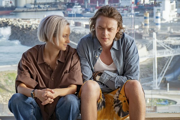 DESPERATE MEASURES In a bid to keep their family business afloat, Emma Lynwood (Andrea Risenborough) and her brother, Chris (Dane DeHaan), use their international freight company to transport a large shipment of cocaine from Mexico and into Italy, in the Amazon Prime TV series ZeroZeroZero. - PHOTO COURTESY OF BARTLEBYFILM