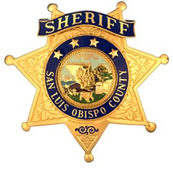 INVESTIGATION UNDERWAY The search for Mason James Lira, 26, ended with a shootout and his death. - IMAGE COURTESY OF THE SLO COUNTY SHERIFF'S TWITTER ACCOUNT