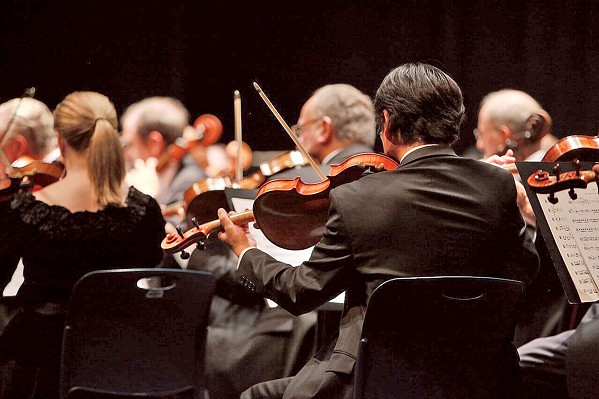 READY TO PERFORM The SLO Symphony is one of five performing arts groups that recently received a Foundation for the Performing Arts Center of San Luis Obispo grant. - PHOTO COURTESY OF THE FOUNDATION FOR THE PAC