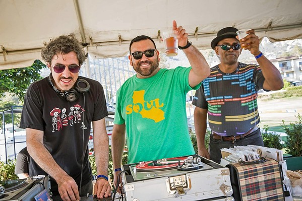 DJS FOR SOCIAL JUSTICE The DJs of Soul Dust Productions, as well as a few guest DJs, will livestream a dance party on July 5, to benefit local social justice organization R.A.C.E. Matters SLO. - PHOTO COURTESY OF SOUL DUST PRODUCTIONS