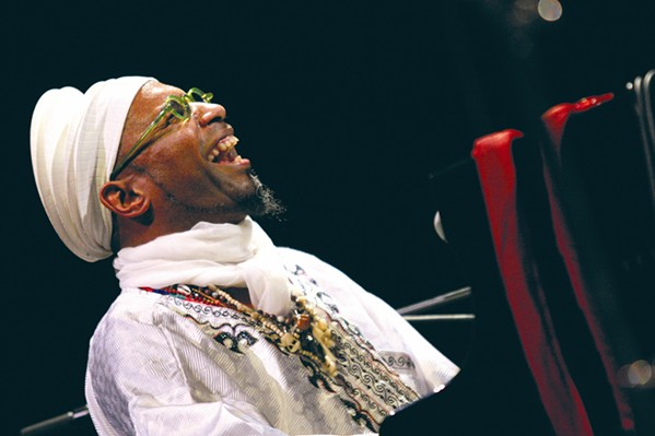 PAST BLAST This week, the SLO Jazz Federation added a 2003 Omar Sosa Afro-American Quintet concert to its YouTube channel. - PHOTO COURTESY OF OMAR SOSA