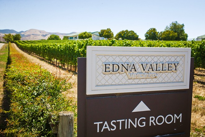 TASTY RED Edna Valley Vineyard won this year's Best Red Wine and Best Tasting Room categories. - PHOTO BY JAYSON MELLOM